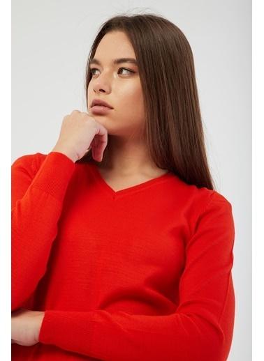Modaset Kazak Kırmızı